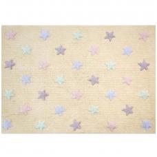 "Kilimas ""Tricolor Stars Vanilla"" 120x160cm"