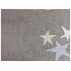"Kilimas ""Three Stars Grey-Blue"" 120x160cm"