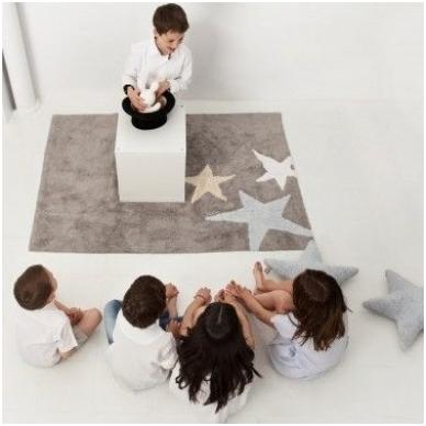 "Kilimas ""Three Stars Grey-Blue"" 120x160cm 3"