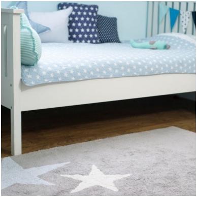 "Kilimas ""Three Stars Grey-Blue"" 120x160cm 4"