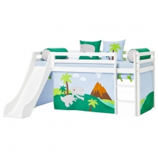 """Vaikiška lovytė su čiuožykla """"Basic Dinosaur"""""""