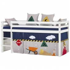 """Vaikiška paaukštinta lovytė """"Basic Construction"""" h-105cm"""